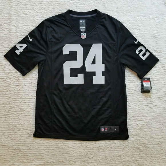 new style df8e2 fa8d9 Oakland Raiders Marshawn Lynch #24 Jersey Boutique